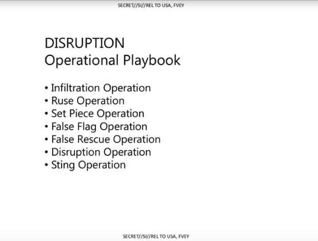 GCHQ Disruption Operational Playbook