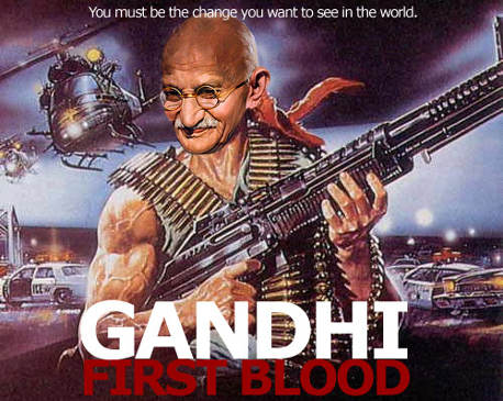 Gandhi First Blood