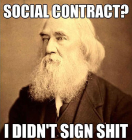 Lysander Spooner Social Contract