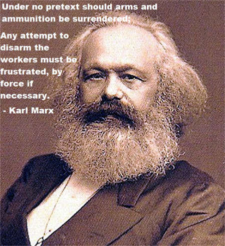 Karl Marx on Gun Control