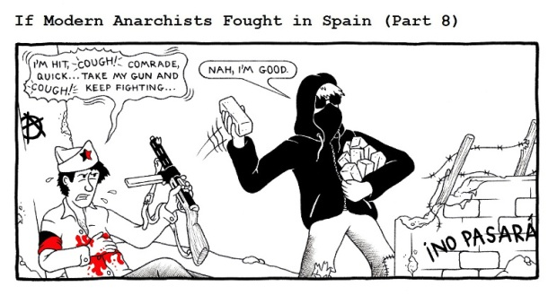 If Modern Anarchists Fought In Spain Part 8 by RednBlackSalamander