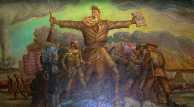Curry John Brown Mural