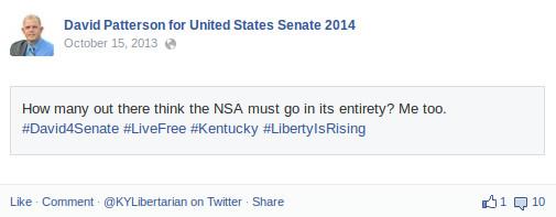 Patterson NSA Abolition